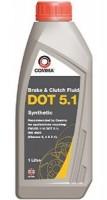 Тормозная жидкость Comma DOT 5.1 (BF51L) 1л.