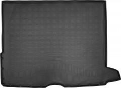 Коврик в багажник для Mercedes GLC-Class X253 '15-, полиуретановый, черный (Nor-Plast)