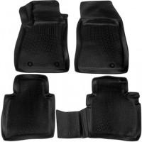 Коврики в салон 3D для Nissan Sentra '14- полиуретановые, черные (L.Locker)