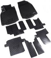 Коврики в салон 3D для Mazda CX-9 '08-16 полиуретановые, черные (Novline / Element)