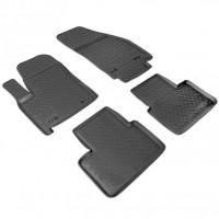 Коврики в салон для Opel Meriva '10- полиуретановые, черные (Nor-Plast)