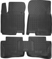 Коврики в салон для Hyundai i-20 '14- резиновые, черные (AVTO-Gumm)
