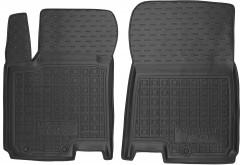 Коврики в салон передние для Hyundai i-20 '14- резиновые, черные (AVTO-Gumm)