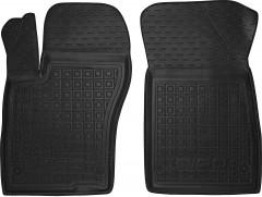 Коврики в салон передние для Fiat Tipo '16- резиновые, черные (AVTO-Gumm)