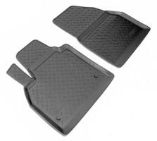 Коврики в салон для Renault Kangoo '09- полиуретановые, черные, передние (Nor-Plast)