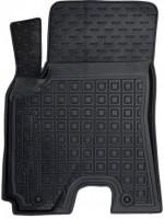 Коврик в салон водительский для Chery Tiggo 3 '16- резиновый, черный (AVTO-Gumm)