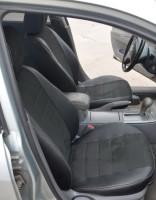 Авточехлы из экокожи S-LINE для салона Mazda 6 '02-08, седан (кроме MPS), алькантара (AVTO-MANIA)