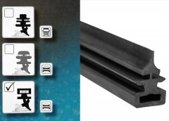 Фото 2 - Резинки для дворников Bosch 700 мм. (2 шт.) Z 324