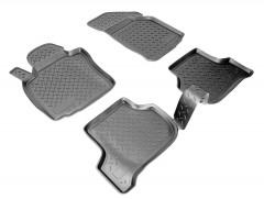 Коврики в салон для Seat Leon '05-12 полиуретановые, черные (Nor-Plast)