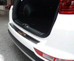 Накладка с загибом на бампер для Kia Sportage '16- (Premium)