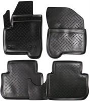 Коврики в салон для Citroen C3 '10- Picasso полиуретановые, черные (Nor-Plast) NPL-Po-14-19