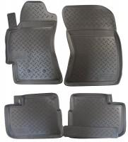 Коврики в салон для Subaru Impreza '07-12 полиуретановые (Nor-Plast)