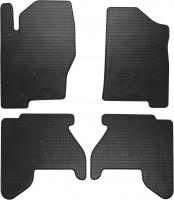 Коврики в салон для Nissan Navara '05-09 резиновые (Stingray)