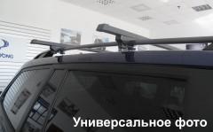 Багажник на рейлинги для Geely Emgrand X7 '13-, сквозной (Десна-Авто)
