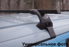 Фото 2 - Багажник на крышу для Geely Emgrand EC7 '11- хетчбэк, сквозной (Десна-Авто)