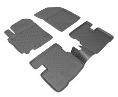 Коврики в салон для Suzuki Swift '10-17, полиуретановые (Nor-Plast)