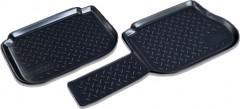 Задние коврики для Volkswagen Caddy '04-15 3 дв. полиуретановые (Nor-Plast)