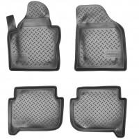 Коврики в салон для Volkswagen Touran '03-15 полиуретановые (Nor-Plast)
