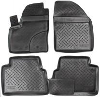 Коврики в салон для Ford C-Max '03-10 полиуретановые, черные (Nor-Plast)