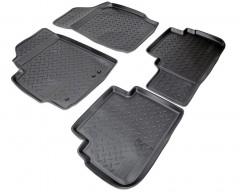 Коврики в салон для Ford Escape '08- полиуретановые, черные (Nor-Plast)