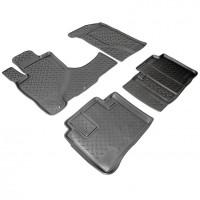 Коврики в салон для Honda CR-V '02-06 полиуретановые (Nor-Plast) АКПП