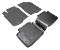 Коврики в салон для Hyundai Sonata '05-10 полиуретановые (Nor-Plast)