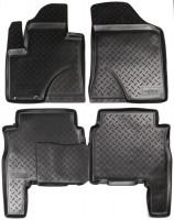 Коврики в салон для Hyundai Santa Fe '10-12 CM полиуретановые (Nor-Plast)