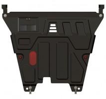 Защита картера двигателя, КПП для Kia Picanto '08-10, 1,1 (Sheriff)