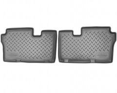 Коврики в салон для Hyundai Veracruz (ix55) '06-12 полиуретановые (Nor-Plast) 3 ряд