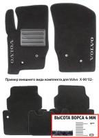 Коврики в салон для Volvo S80 '09-13 текстильные, черные (Люкс)