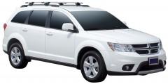 Багажник на рейлинги для Dodge Journey '07-, сквозной (Whispbar-Prorack)