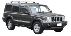 Багажник на штатные направляющие для Jeep Commander '06-10, до края опоры (Whispbar-Prorack)