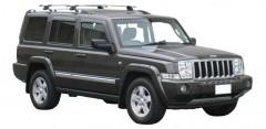 Багажник на штатные направляющие для Jeep Commander '06-10, сквозной (Whispbar-Prorack)