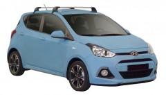 Багажник на крышу для Hyundai i-10 '14-, до края опоры (Whispbar-Prorack)
