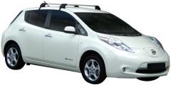 Багажник на крышу для Nissan Leaf '10-17, до края опоры (Whispbar-Prorack)