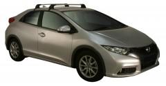 Багажник на крышу для Honda Civic 5D '12-, до края опоры (Whispbar-Prorack)