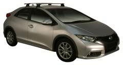 Багажник на крышу для Honda Civic 5D '12-, сквозной (Whispbar-Prorack)