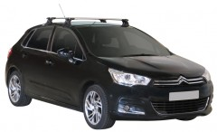 Багажник на крышу для Citroen C4 '11-, сквозной (Whispbar-Prorack)