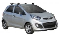 Багажник на крышу для Kia Picanto '11-, сквозной (Whispbar-Prorack)