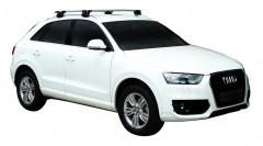 Багажник на низкие рейлинги для Audi Q3 '11-, сквозной (Whispbar-Prorack)