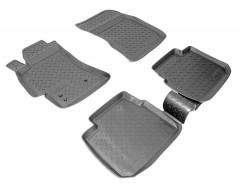 Коврики в салон для Subaru Legacy '04-10 полиуретановые (Nor-Plast)