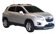 Багажник на рейлинги для Chevrolet Tracker '13-, вровень рейлинга (Whispbar-Prorack)