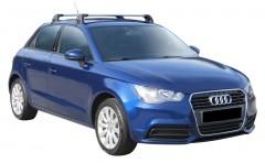 Багажник на крышу для Audi A1 '10-, до края опоры (Whispbar-Prorack)
