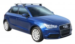 Багажник на крышу для Audi A1 '10-, сквозной (Whispbar-Prorack)