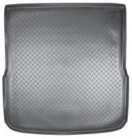 Коврик в багажник для Audi A6 '08-10 универсал, полиуретановый (NorPlast) черный