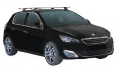 Багажник на крышу для Peugeot 308 '14-, сквозной (Whispbar-Prorack)
