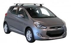 Багажник на крышу для Hyundai ix-20 '11-, сквозной (Whispbar-Prorack)