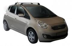 Багажник на крышу для Kia Venga '10-, до края опоры (Whispbar-Prorack)