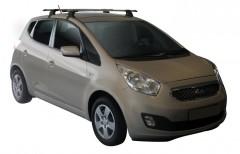 Багажник на крышу для Kia Venga '10-, сквозной (Whispbar-Prorack)