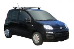 Багажник в штатные места для Fiat Panda '12-, сквозной (Whispbar-Prorack)